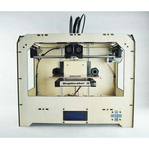 3D Printer based on Makerbot Replicator with 2 extruders 2kg ABS +