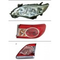 Toyota Corolla,09-13,10 Year,Head Lamp,Tail Lamp